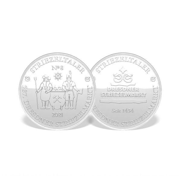 "Striezeltaler 2021 Motiv ""Erzgebirgische Bergleute"""